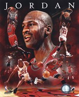 Michael Jordan 2011 Portrait Plus Fine Art Print
