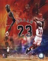 Michael Jordan 2011 Legends Composite Fine Art Print