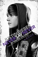 Justin Bieber: Never Say Never Movie Wall Poster