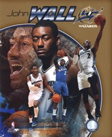 John Wall 2011 Portrait Plus Fine Art Print