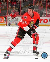 Chris Neil 2010-11 Action Fine Art Print