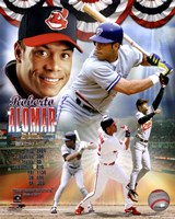Roberto Alomar Legends Composite Framed Print