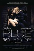 Blue Valentine Framed Print