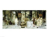 The Vintage Festival in Ancient Rome, 1871 Fine Art Print
