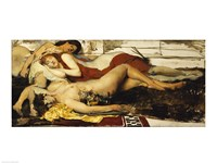 Exhausted Maenides, c.1873-74 Fine Art Print