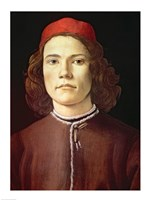 Portrait of a Young Man, c.1480-85 Fine Art Print