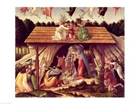 Mystic Nativity, 1500 Fine Art Print