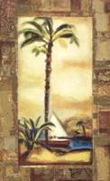 Tropical Gold I Fine Art Print