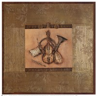 Classical Instrument II Fine Art Print