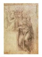 Inv.1895-9-15-516.recto (w.72) Study for the Annunciation Fine Art Print