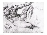 Study for the Creation of Adam Fine Art Print