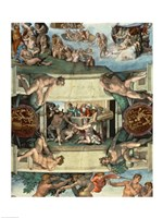 Sistine Chapel Ceiling (1508-12): The Sacrifice of Noah, 1508-10 Fine Art Print