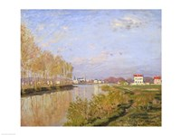 The Seine at Argenteuil, 1873 Framed Print