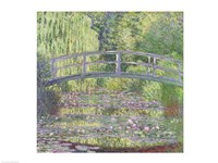 The Waterlily Pond: Green Harmony, 1899 Framed Print