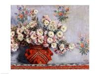 Chrysanthemums, 1878 Fine Art Print