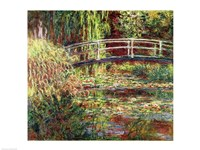 Waterlily Pond: Pink Harmony, 1900 Fine Art Print