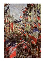 The Rue Saint-Denis, Celebration of June 30, 1878 Fine Art Print
