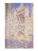 Rouen Cathedral at Sunset, 1894 Fine Art Print
