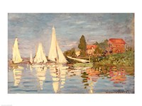Regatta at Argenteuil, c.1872 Fine Art Print