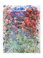 The House at Giverny under the Roses, 1925 Fine Art Print