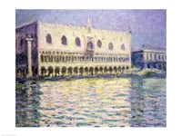 The Ducal Palace, Venice, 1908 Fine Art Print