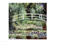 White Waterlilies, 1899 Fine Art Print