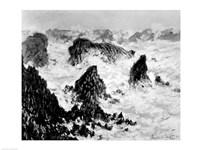 The Rocks of Belle-Ile, 1886 Fine Art Print