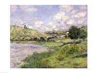 Landscape, Vetheuil, 1879 Fine Art Print