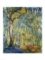 The Large Willow at Giverny, 1918 Fine Art Print