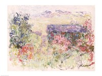 The House Through the Roses, c.1925-26 Fine Art Print