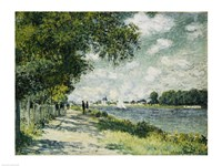 The Seine at Argenteuil, 1875 Fine Art Print