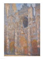 Rouen Cathedral, Facade, 1894 Fine Art Print