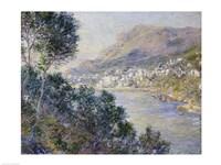 Monte Carlo, Vue de Cap Martin, 1884 Fine Art Print