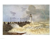 The Quay at Le Havre, 1868 Fine Art Print