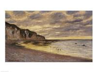 Pointe De Lailly, Maree Basse, 1882 Fine Art Print
