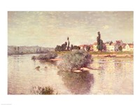 The Seine at Lavacourt, 1880 Fine Art Print