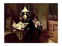 The Dinner, 1868-9 Fine Art Print