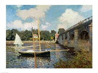 The Seine at Argenteuil Fine Art Print
