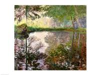 The Lake at Montgeron Fine Art Print