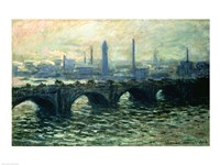Waterloo Bridge, 1902 Fine Art Print