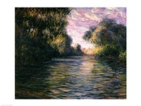 Morning on the Seine, 1897 Fine Art Print