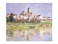 The Church at Vetheuil, 1880 Fine Art Print