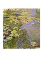 The Waterlily Pond, 1917-19 Fine Art Print