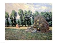 Haystacks, 1885 Fine Art Print