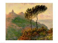 The Church at Varengeville, 1882 Fine Art Print