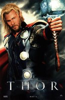 Thor Movie Fine Art Print