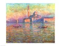 San Giorgio Maggiore, Venice, 1908 Fine Art Print
