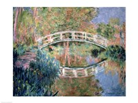 The Japanese Bridge, Giverny, 1892 Fine Art Print