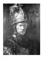 Portrait of a Man with a Golden Helmet, 1648 Fine Art Print