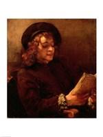 Titus Reading, c.1656-57 Fine Art Print